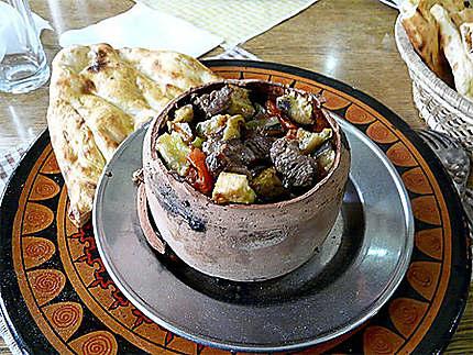 3ème étape du testi kebab