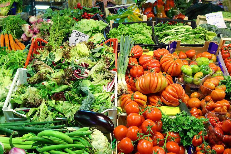Saliver au marché couvert de San Lorenzo