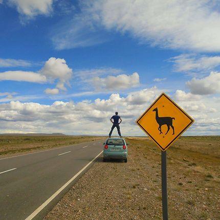 Pause sur la Ruta 40, Patagonie