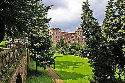 Parc du château d'Heidelberg