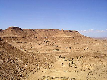 Le désert vers Chenini