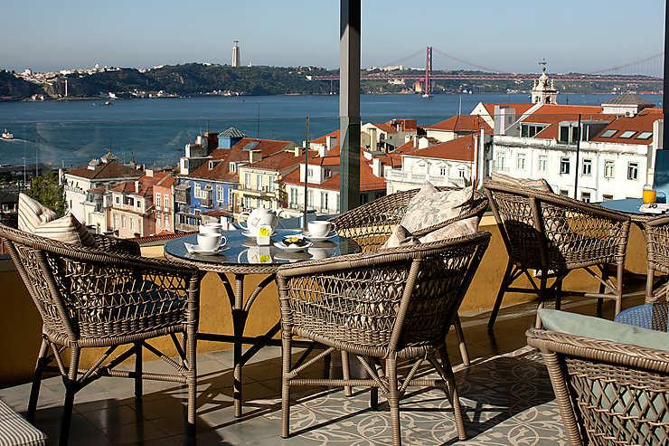 Lisbonne : Terrace BA
