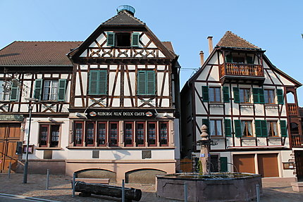 Maisons à colombage de Kintzheim