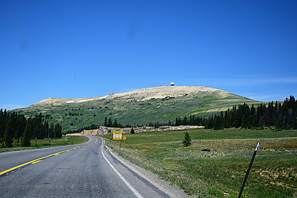 Route dans Bighorn National Forest