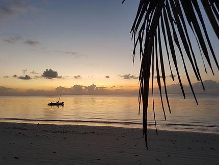 Bamburi beach, à l'aube