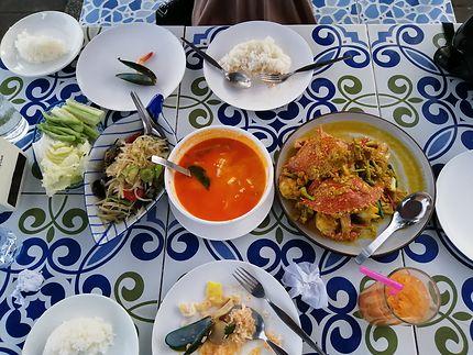 Gastronomie à Rawai Beach