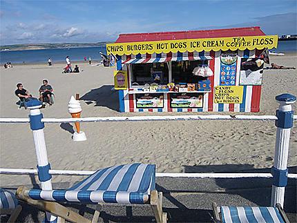 Snacksur la plage
