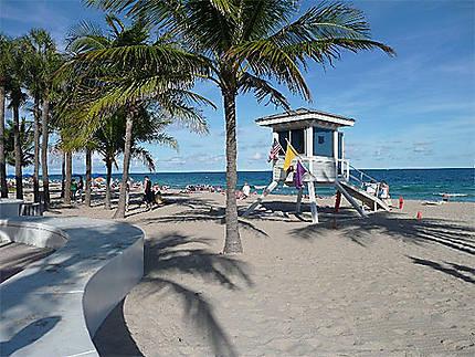 Floride, Plage de Fort Lauderdale