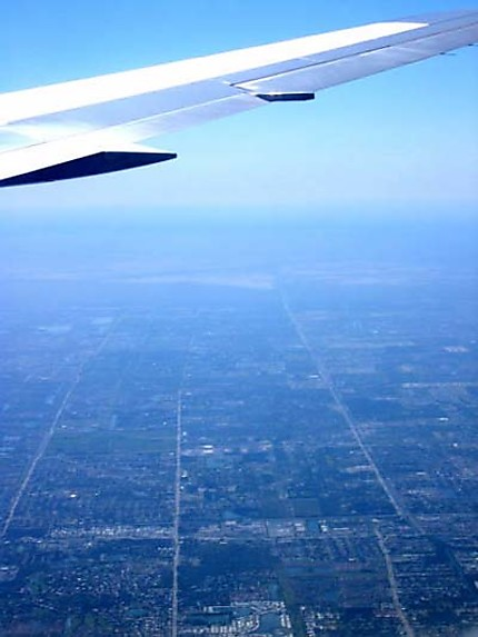 Miami, vue d'avion