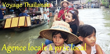 Circuits en Thaïlande à la carte, agence francophone.