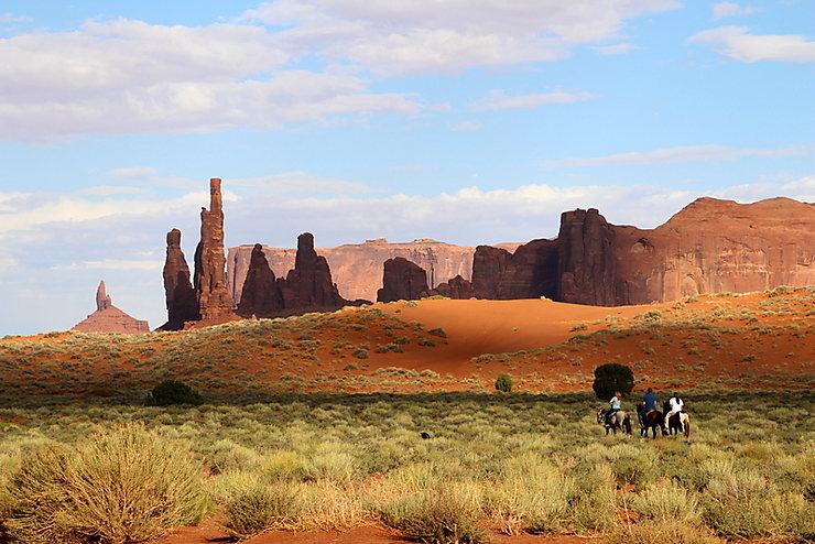 Lumières du Far-west, Monument Valley, États-Unis