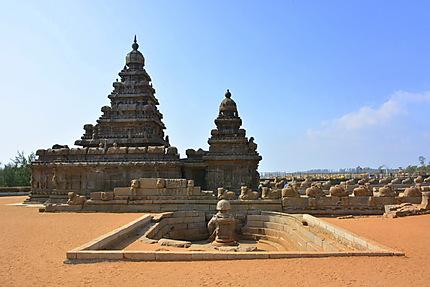 Le temple sur la plage