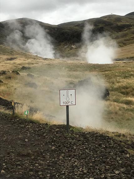En route vers les sources d'eau chaude