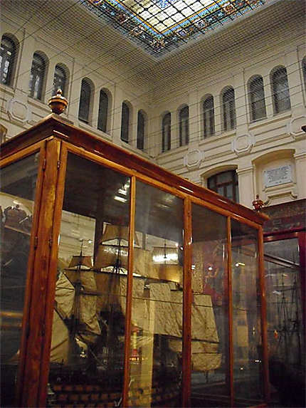 Museo Naval : intérieur