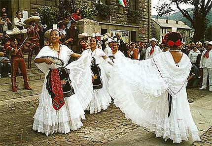 Barcelonnette - Les fêtes mexicaines ont lieu la 2e semaine d'aout