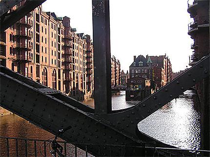 Hambourg quartier des entrepots