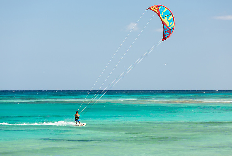 Kite-surf aux Canaries