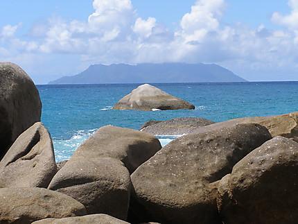 Glacis - Contours de l'île Silhouette