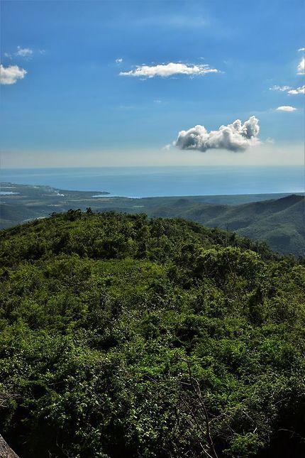 Parque Guanayara - Vue sur la mer