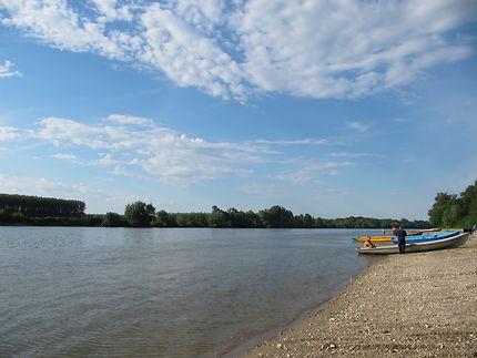 Le Danube entre la Bulgarie et le Roumanie