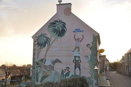 Fresque sur l'Île de Batz