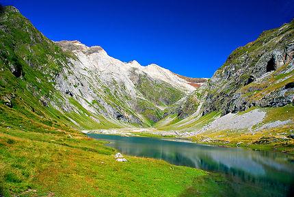 Lac d'Ossoue, massif du Vignemale