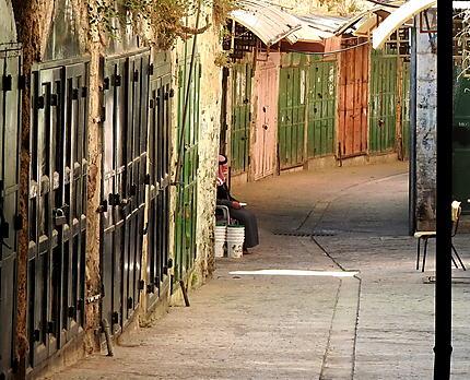 Dans la vieille ville d'Hébron