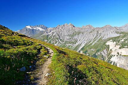 Glacier de Gébroulaz, massif de la Vanoise