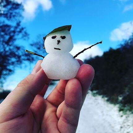 Petit homme des neiges auvergnat