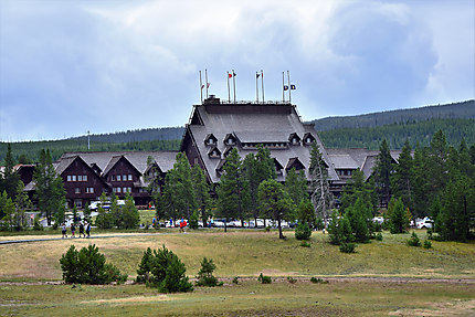 Le lodge de Old Faithful