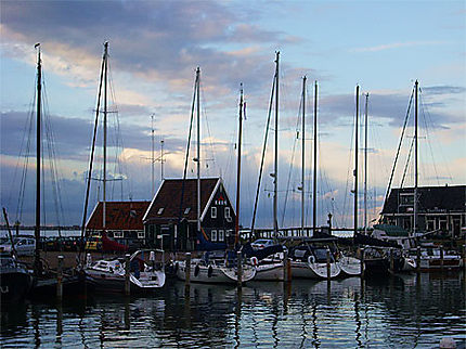 Le port de Marken, sur l'IJsselmeer