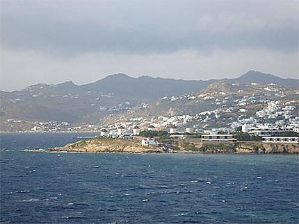Paysage de Mykonos
