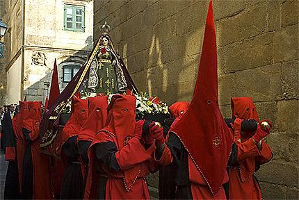 Semaine Sainte à Santiago de Compostela