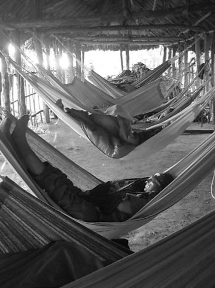 Les joies du camping en Colombie