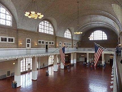 Ellis Island - Intérieur