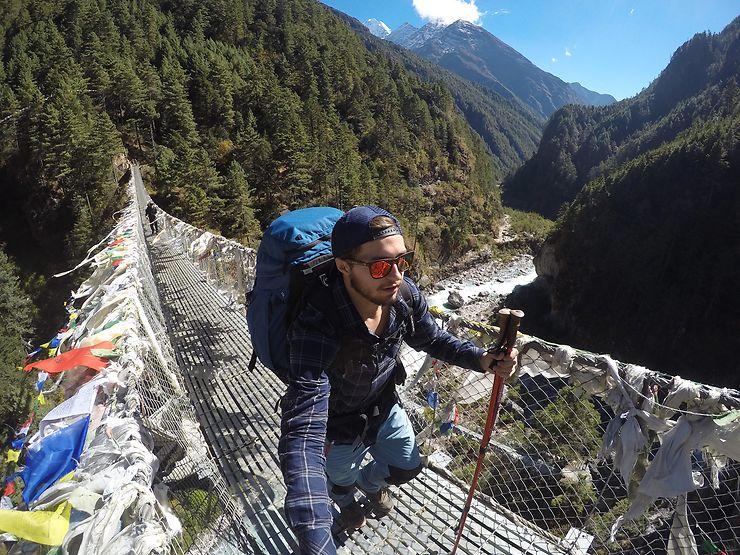 Sur les sentiers de la vallée de l'Everest, Népal