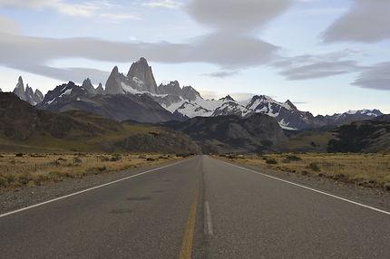 Sur la route en Patagonie