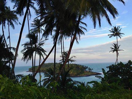 Vue sur l'Île du Diable, Guyane