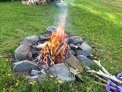 Mets du feu dans la cheminée à Madeleine-Centre