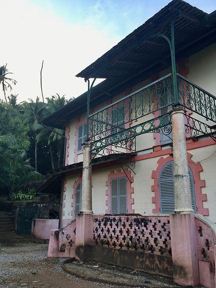 La résidence du gouverneur sur l'Île Royale