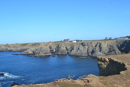 Crique en direction du phare, Belle-Île-en-Mer