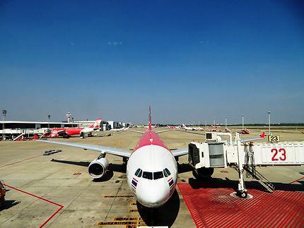 Pistes aéroport de Don Muang