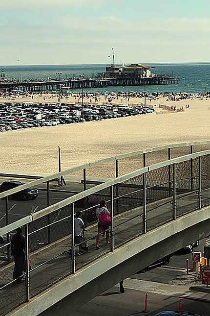 Los Angeles, plage de Santa Monica
