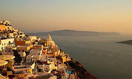 Coucher de soleil sur santorin coucher de soleil fira - L heure du coucher du soleil aujourd hui ...