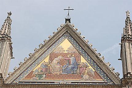 Flèche de la cathédrale d'Orvieto