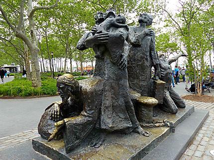 Statue à Battery Park