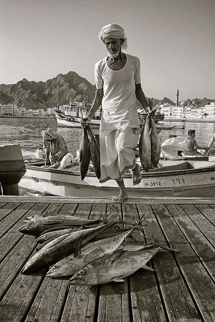 Retour de pêche à Mouttrah