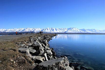 Nouvelle Zélande, lac Tekapo