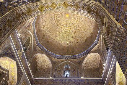 Intérieur du mausolée de Tamerlan