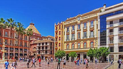 Málaga plazza de la constitucion